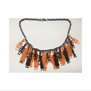 Vintage Plastic Halloween Necklace Ben Cooper Styl